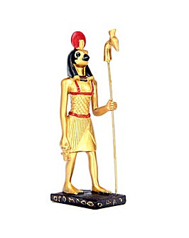 Gold Standing Horus Egyptian Figurine