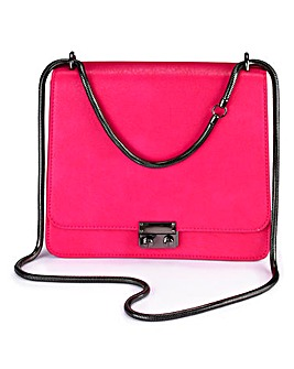 Satchel Bag with Slinky Chain