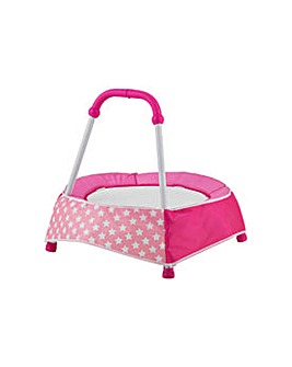 CV Indoor Toddler Trampoline - Pink
