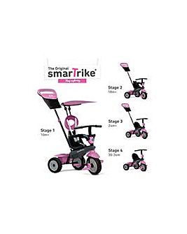 SmarTrike 4-in-1 Vanilla Tricycle