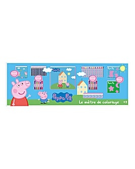 PEPPA PIG Colouring Meter 68pc
