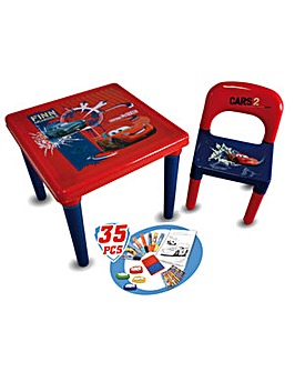 DISNEY Cars Activity Table With 35 Piece