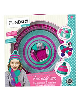 FUNDOO Twist Maxi Loop Knitting Machine