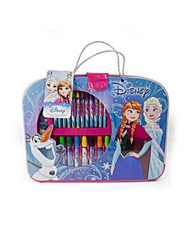 DISNEY Frozen Colouring Suitcase 32pcs