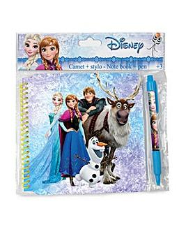 DISNEY Frozen Spiral Notebook