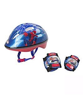 Spider-man Helmet, Knee & Elbow Pads