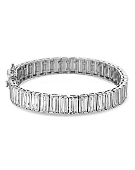 Jon Richard Cubic Zirconia Row Bracelet