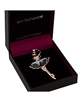 Jon Richard Ballet Dancer Brooch