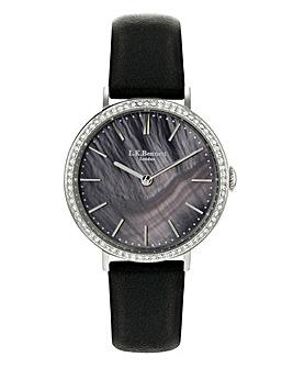LK Bennett Black Ladies Watch