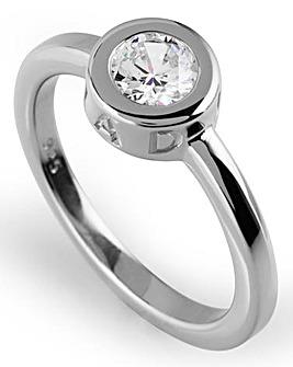 Radley Round Silver tone Ring