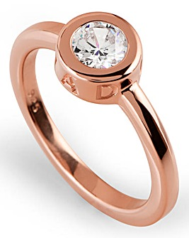 Radley Round Rose tone Ring
