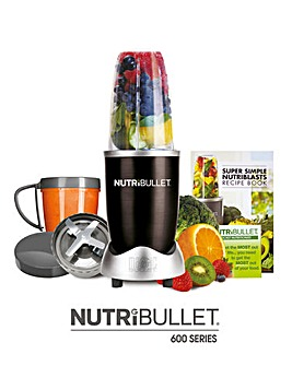 Nutri Bullet 600 Series - Black 8 piece