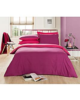 Plain Dye Twin Pack Duvet Cover Set