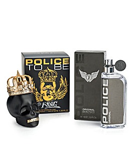 Police Original & To Be King BOGOF