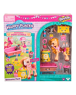 Shopkins Welcome Pack - Stable