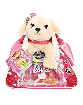Barbie Vet Bag Set - Light Brown Puppy