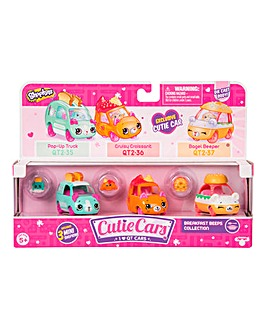Shopkins Cutie Cars 3 Pk-Breakfast Beeps