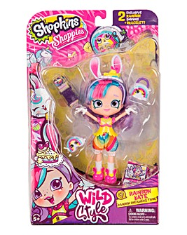 Shopkins Doll - Rainbow Kate Bunny