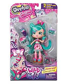 Shopkins Shoppies Doll-Peppa-Mint Tiger