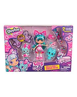 Shopkins Shoppies Doll-Bella Bow Playset