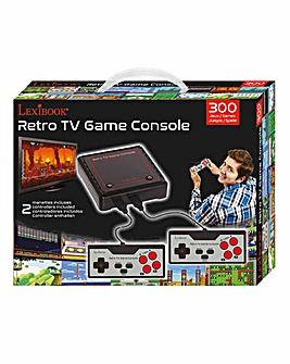 Lexibook Retro TV Games Console 300 in 1