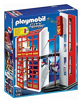 Playmobil Fire Station and Alarm