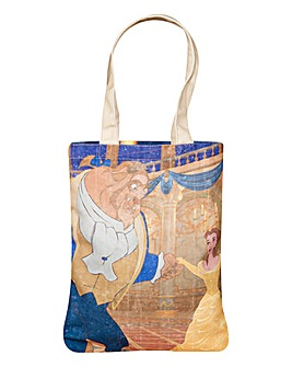 Beauty & the Beast Canvas Tote Bag