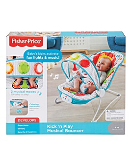 Fisher Price Kick n Play Musical Bouncer