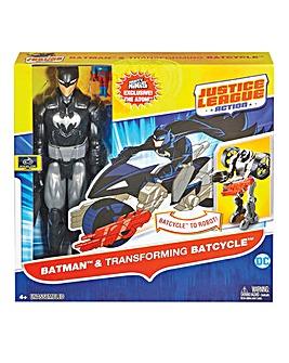 Justice League Action Figure & Vehicle