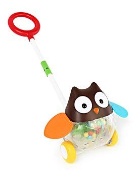 Skip Hop E&M Rolling Owl Push Toy
