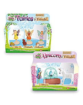 Fairies & Friends and Unicorn Friends