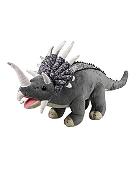Plush Triceratops 17in