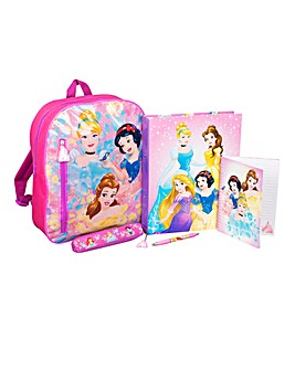Disney Princess Filled Backpack Set