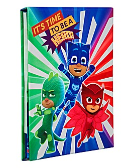 PJ Masks Notebook & Gel Pens