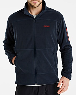 Snowdonia Full Zip Grid Fleece