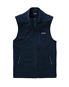 Snowdonia Full Zip Grid Gilet