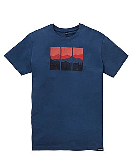 Snowdonia Mountain T-Shirt L