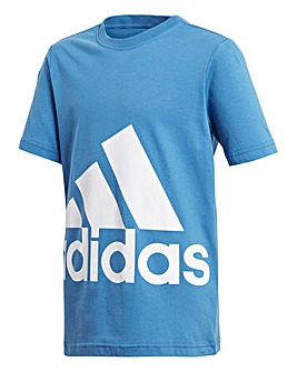 adidas Youth Boy Big Logo Tee