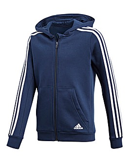 adidas Youth Boy 3-Stripes Hoodie