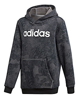 adidas Youth Boy Linear Hoodie