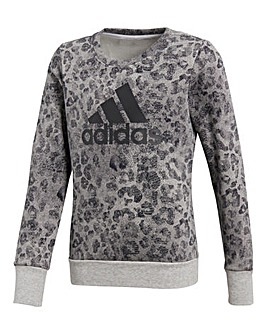 adidas Youth Girl Crew Sweatshirt