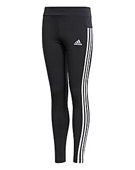 adidas Youth Girls Three Stripe Tight