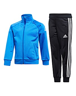 adidas Younger Boys Knit Tracksuit