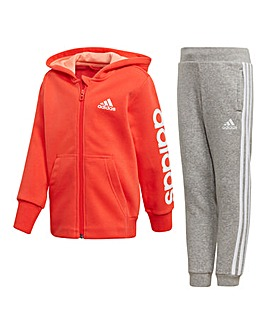 adidas Younger Girls Printed Tracksuit