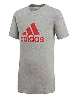 adidas Youth Boy Logo Tee