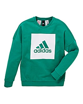 adidas Youth Boy Logo Crew Tee