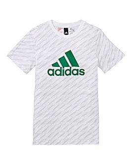 adidas Youth Boy Logo Tee