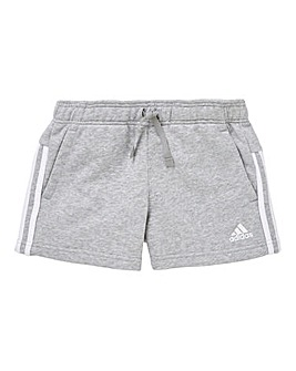 adidas Youth Girls Three Stripe Short
