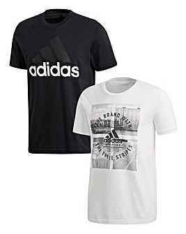 adidas Linear and Athletic 2 Pack