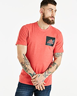 adidas Essential Chest Logo Tee